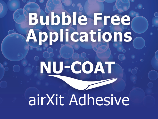 airXit For Bubble Free Applications